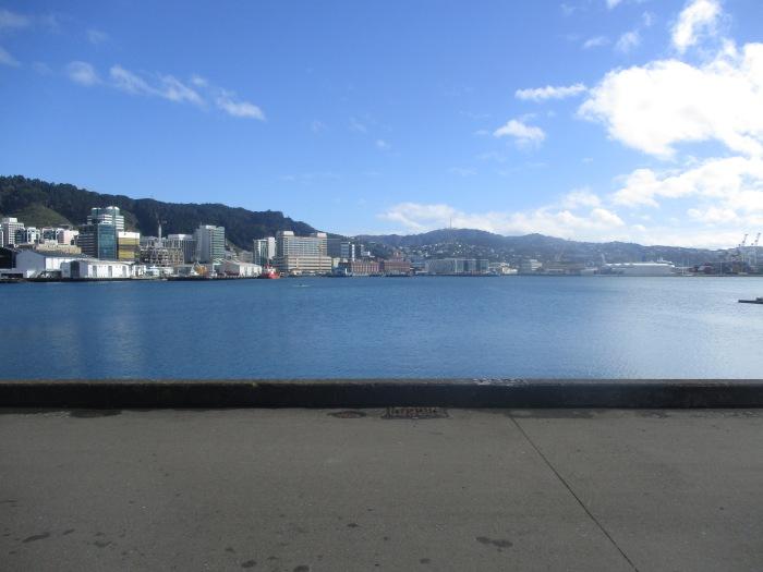 Walking around Wellington