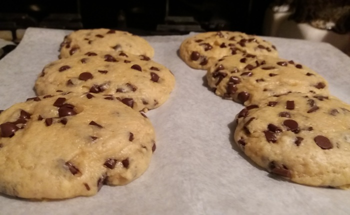 Let's Bake! (Peanut Butter Chocolate Chip Cookies Edition)