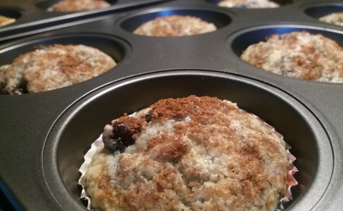 Let's Bake! (Blueberry Crumble MuffinsEdition)