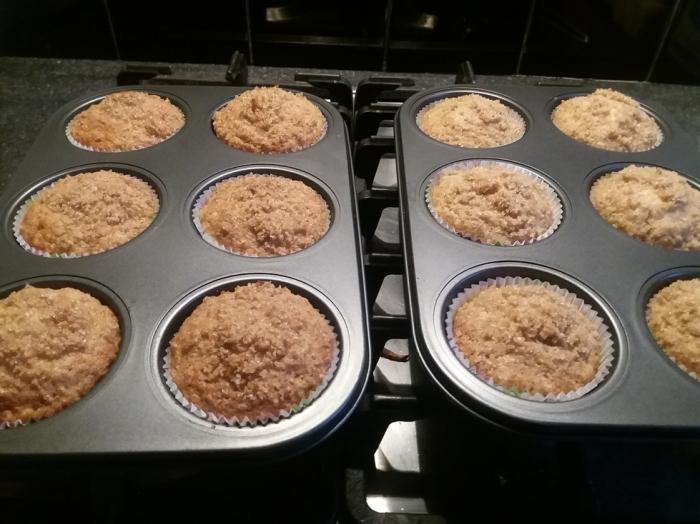 Banana Crumb Muffins 26