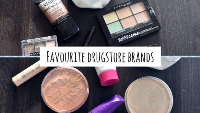 Favourite drugstore brands