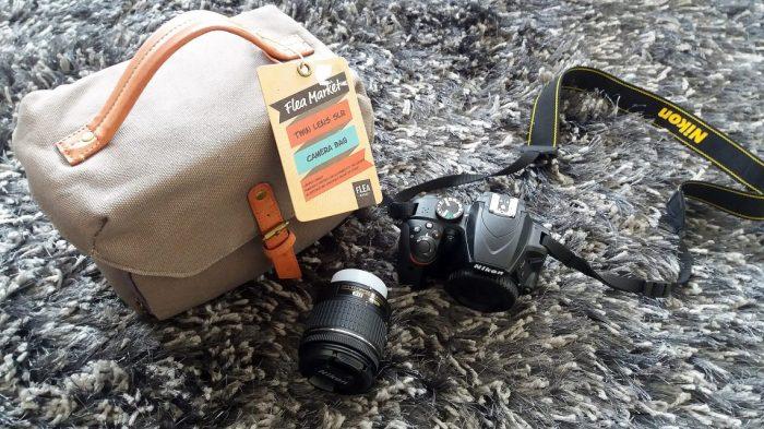 camera and camera bag