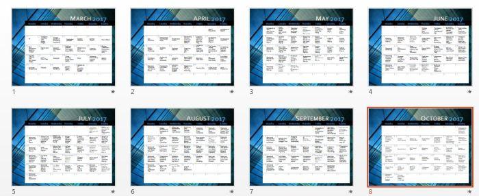 planner powerpoint