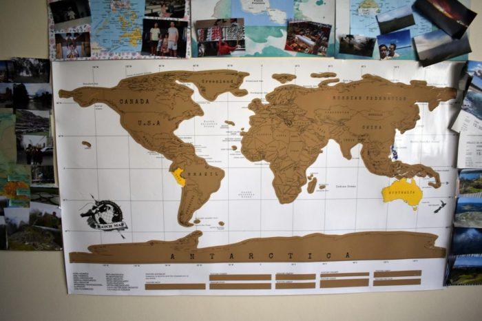 travel wall