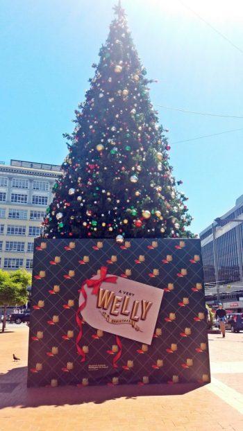 welly christmas tree