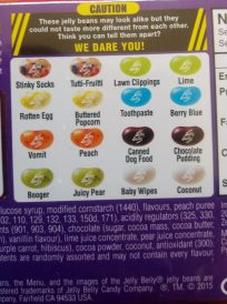 beanboozled flavours