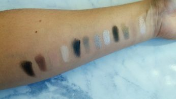 eyeshadow swatch two