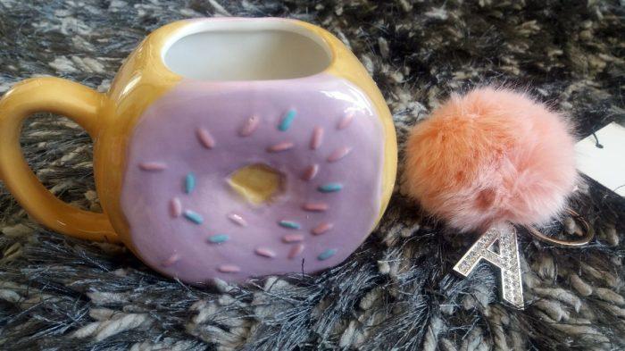 mug and keychain