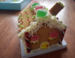 rory's gingerbread house