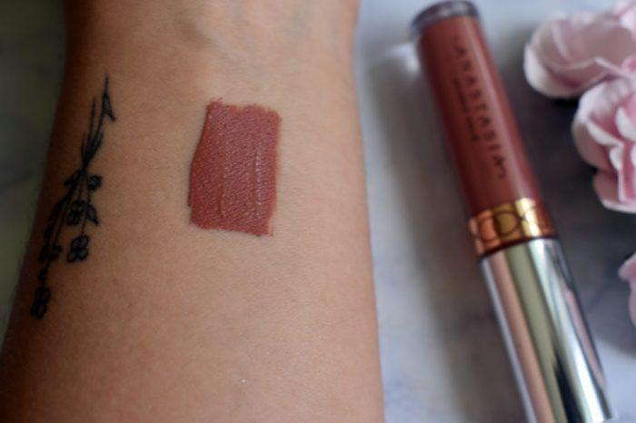 anastasia lipstick swatch