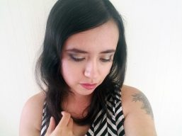 makeup selfie