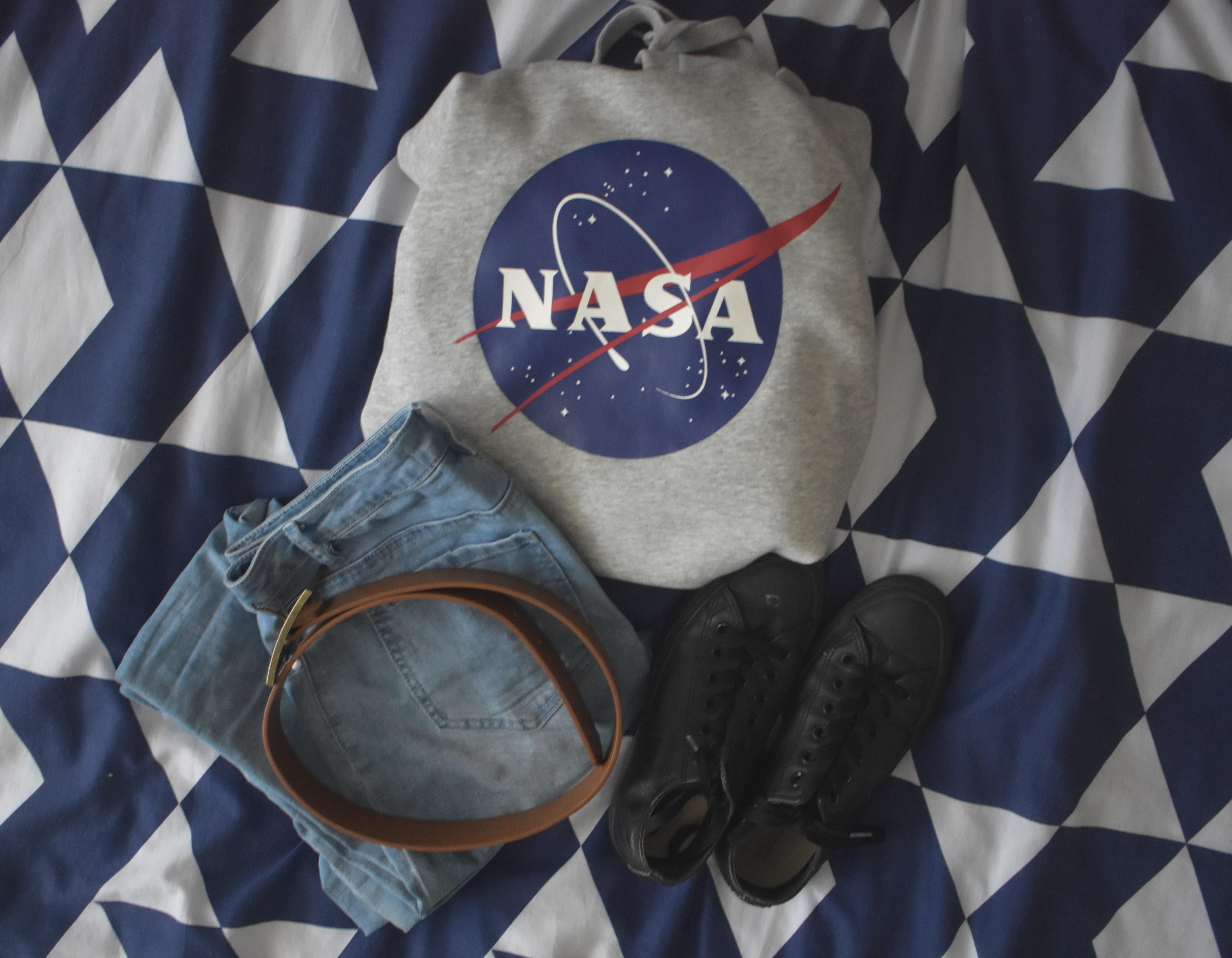 hoodie flat lay